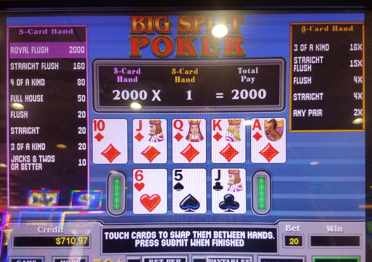 Big Split Poker